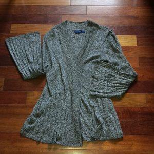 Women's drape cardigan